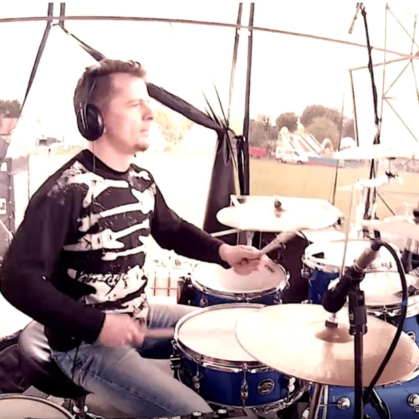 -Drum Cam Cover – Leave Me Alone